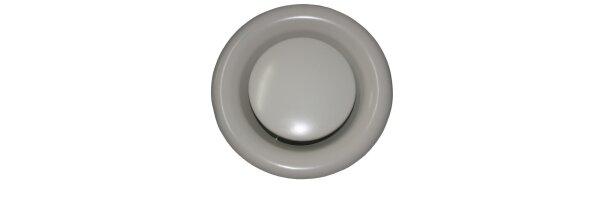 Tellerventile Metall weiß