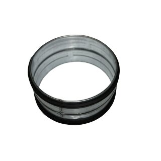 Verbindungsstück / Nippel 80mm mit Lippendichtung