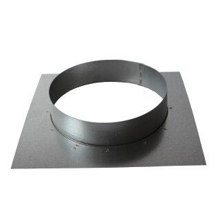 Wandflansch 125mm (Platte: 180 x 180mm)