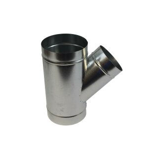 Abzweigstück 45° 180mm Abgang 160mm
