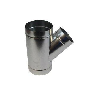 Abzweigstück 45° 400mm Abgang 200mm
