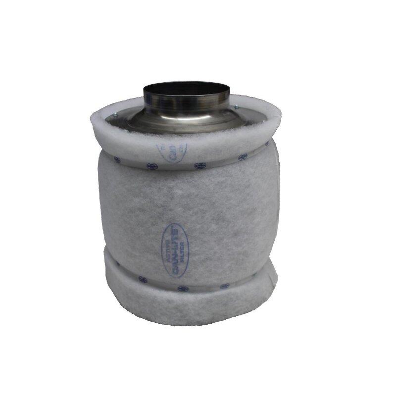 Aktivkohle Luftfilter Rohrfilter Vorfilter 200mm Can In-Line Filter 1000cbm