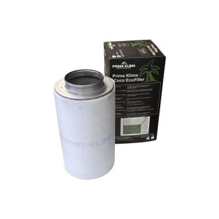 Prima Klima Aktivkohlefilter Eco-Line 700cbm / 150mm