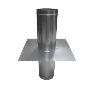 Dachdurchführung 125mm / 0° Neigung