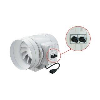 Vents TT 100mm (145 / 187cbm) mit Drehzahlregler und Thermostat