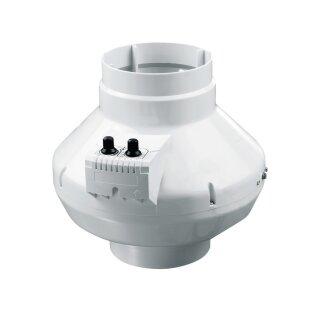 Vents Rohrventilator 250mm / 1080cbm mit Thermostat und Drehzahlsteuerung (VK 250 U)