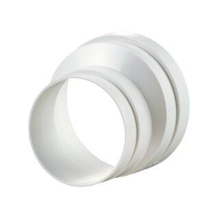 Reduzierstück PVC asymetrisch 125 auf 100mm