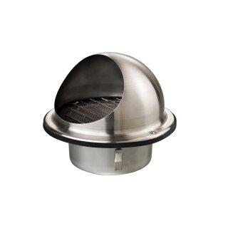 Wandauslaß Edelstahl mit Schutz 200mm