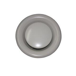 Tellerventil Metall weiß Abluft 150mm