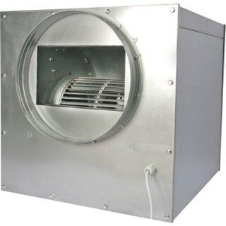Lüfterkiste schallgedämmt 250cbm / 125mm
