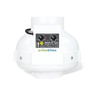 Prima Klima Rohrventilator Temperatur- und Drehzahl gesteuert 400cbm / 125mm