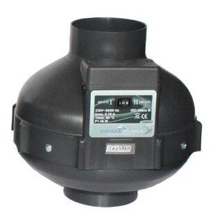 Prima Klima Rohrventilator 2-Stufen 450-950cbm / 200mm