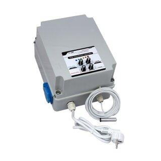 GSE Stufentransformator 2,5A für Temperatur und Luftfeuchtigkeit (1 Lüfter)