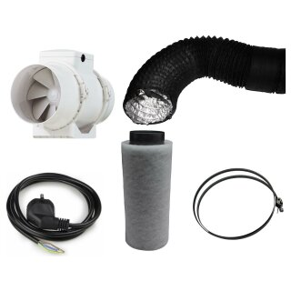 Lüftungsset Vents 405/520cbm und Can-Lite