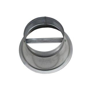 Übergang Deckendiffusor für Rundrohr 150mm