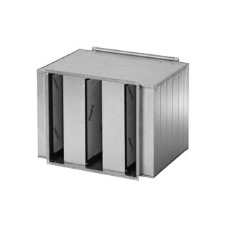 Systemair Kulissenschalldämpfer LDR-B (1100x600mm / Länge 1250mm)