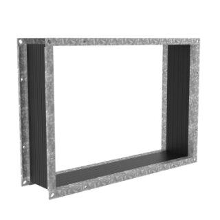Systemair rechteckiger Segeltuchstutzen FGV 100 (876x876mm)