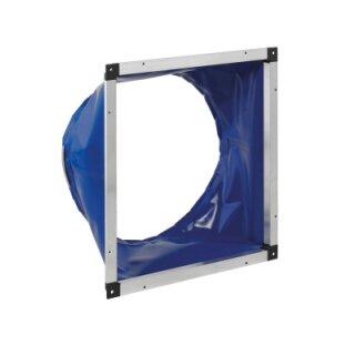 Systemair Flexibler Übergangsstutzen UGS 025/315 (eckig 358x358mm auf rund 315mm)
