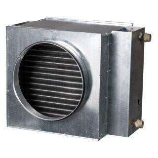 Luftwasser-Heizregister 250 mm / 2 Wärmetauschflächen