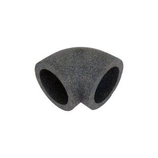Isolierung für PVC Bogen 100 mm 90°