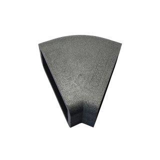 Isolierung für Flachkanal Bogen 45° horizontal 204 x 60 mm