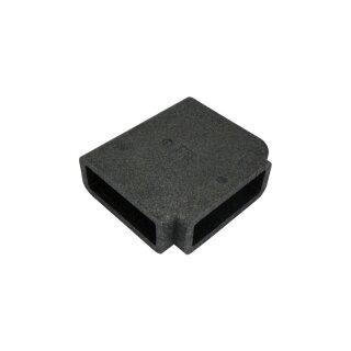 Isolierung für Flachkanal T-Stück 204 x 60 mm