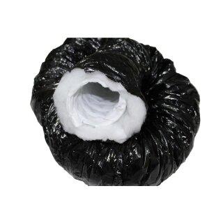 Phonitec Schlauch schwarz 200mm / 1lfm