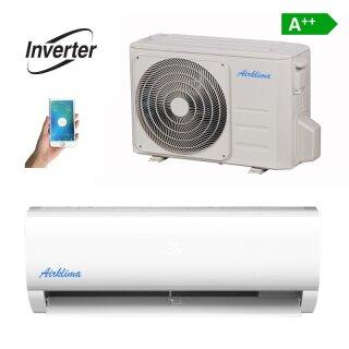 Airklima Wandgerät Inverter 0,9 – 3,4 kW mit WiFi