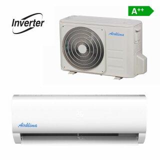Airklima Wandgerät Inverter 1,1 – 4,16 kW
